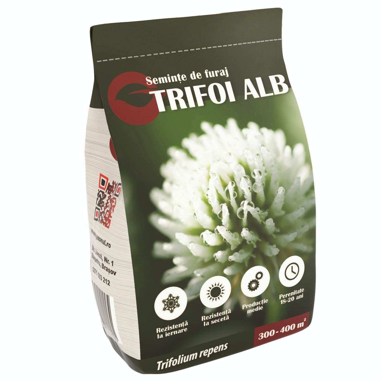 Semințe de furaje Trifoi alb 500g