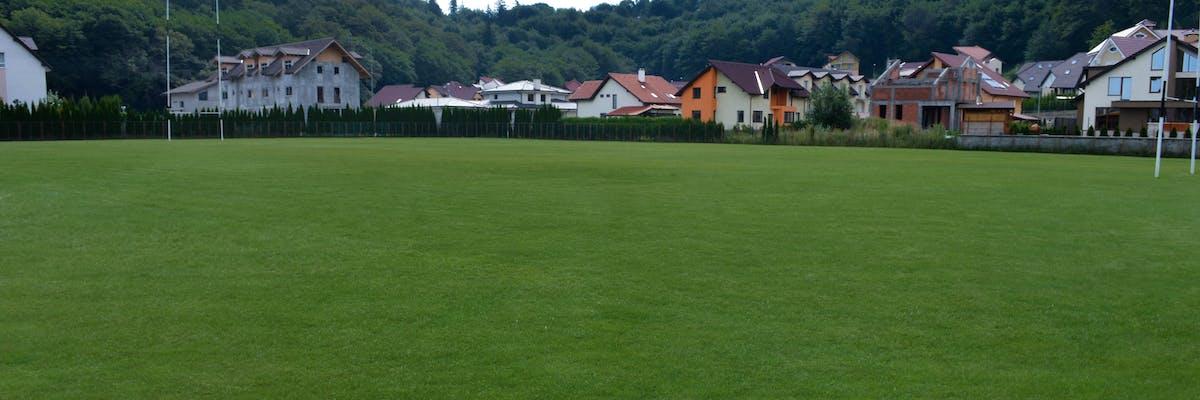 teren de rugby cu gazon sport natural