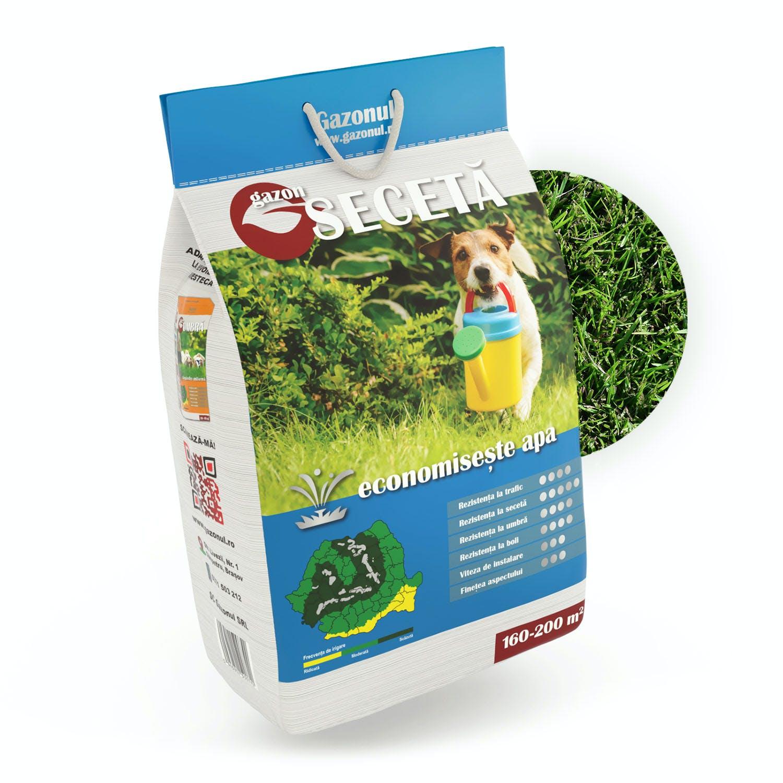 Semințe de gazon Secetă 4kg