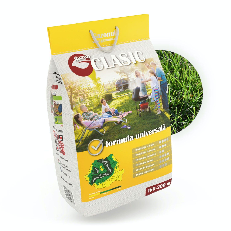 Semințe de gazon Clasic 4kg