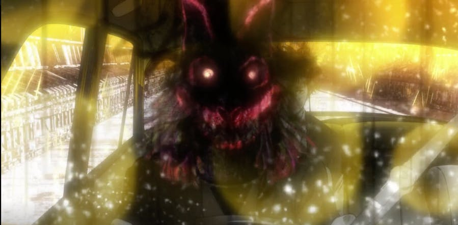 Arata's father depicted during his mental trace.