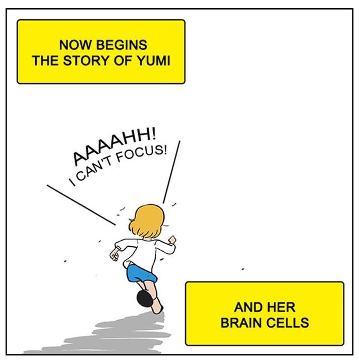 Yumi's humble beginning...