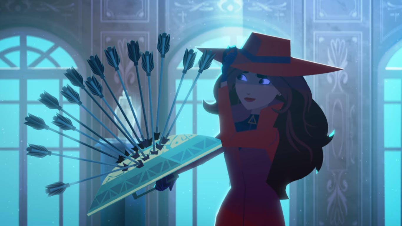 Carmen Sandiego is quick-witted! Love her.