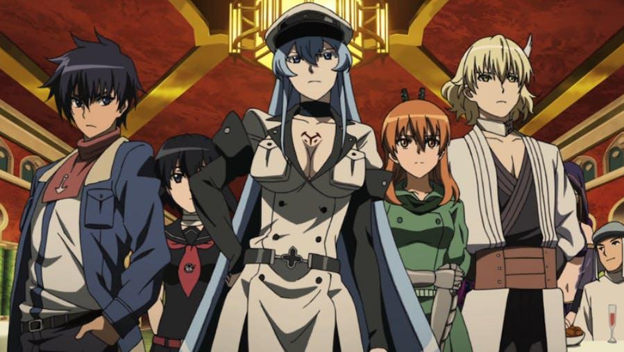Akame Ga Kill!'s Jaegers team members