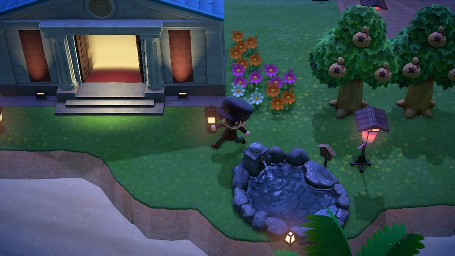 Animal Crossing: New Horizons sidestepping