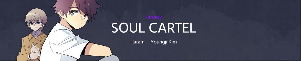 Soul Cartel banner screencapped from Webtoon.