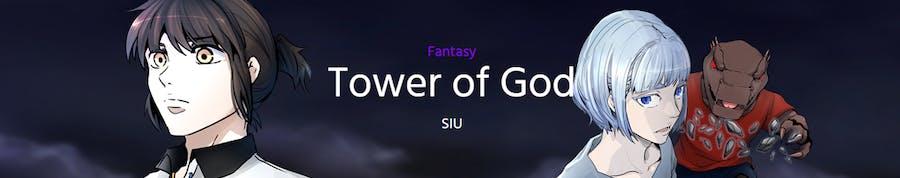 Tower of God webtoon banner