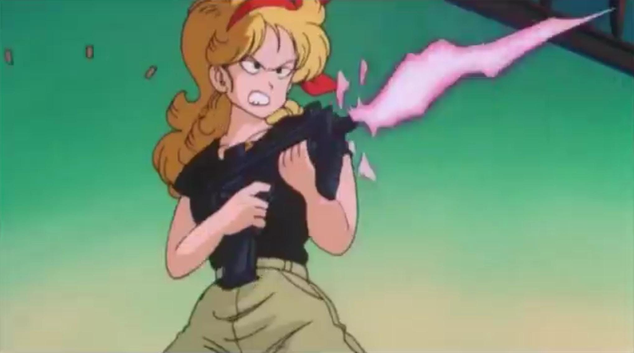 Dragon Ball Launch is one of the ladies forgotten by the mangaka Akira Toriyama...