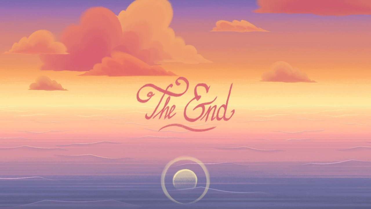 Old Man's Journey the ending text. The end.
