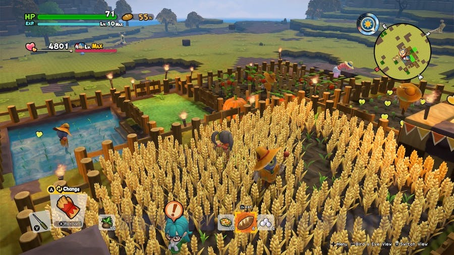 Dragon Quest Builders 2 lets you farm to your heart's content