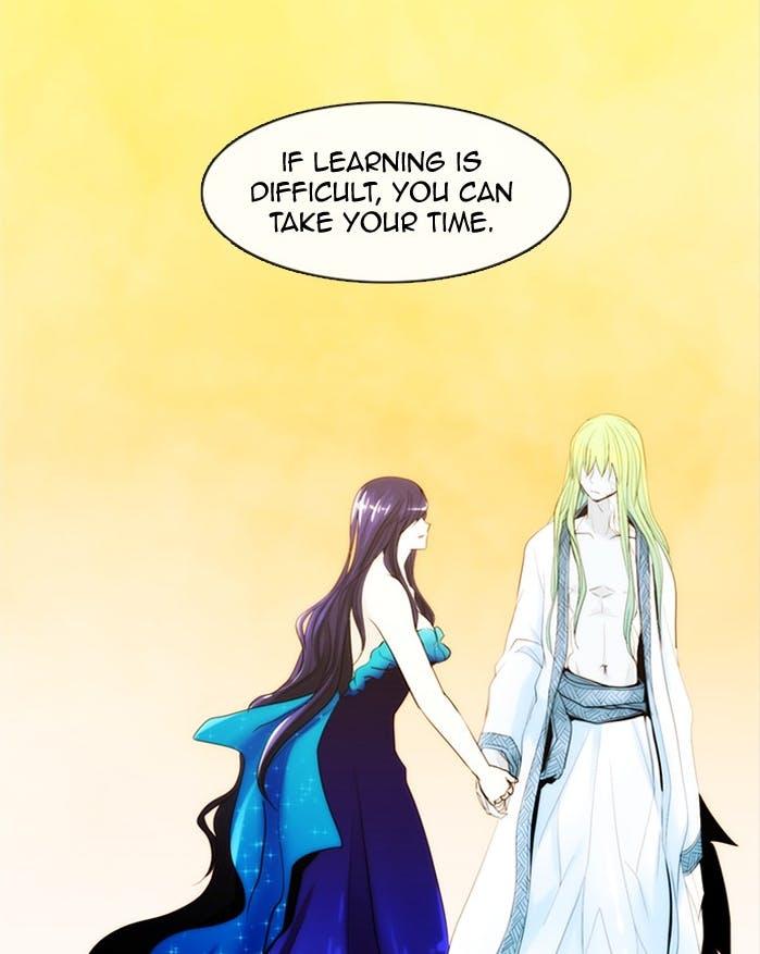 Menaka and Gandharva from Kubera webtoon
