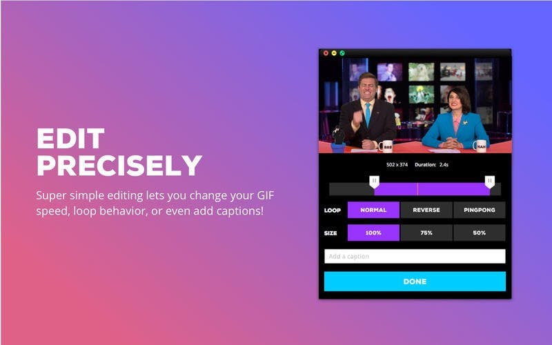 Giphy Capture for Mac only.