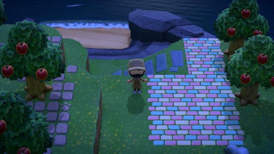 Animal Crossing: New Horizon secret beach