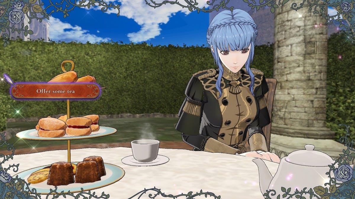 Poor Marianne needs some sleep. I made her drink Chamomile tea.