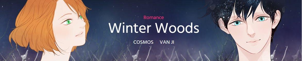 Winter Woods banner screencapped from Webtoon