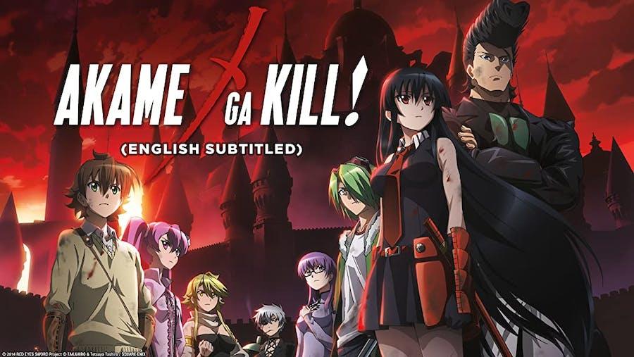 Akame Ga Kill! cover poster