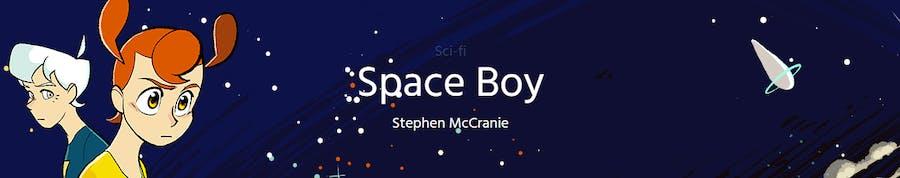 Space Boy webtoon banner