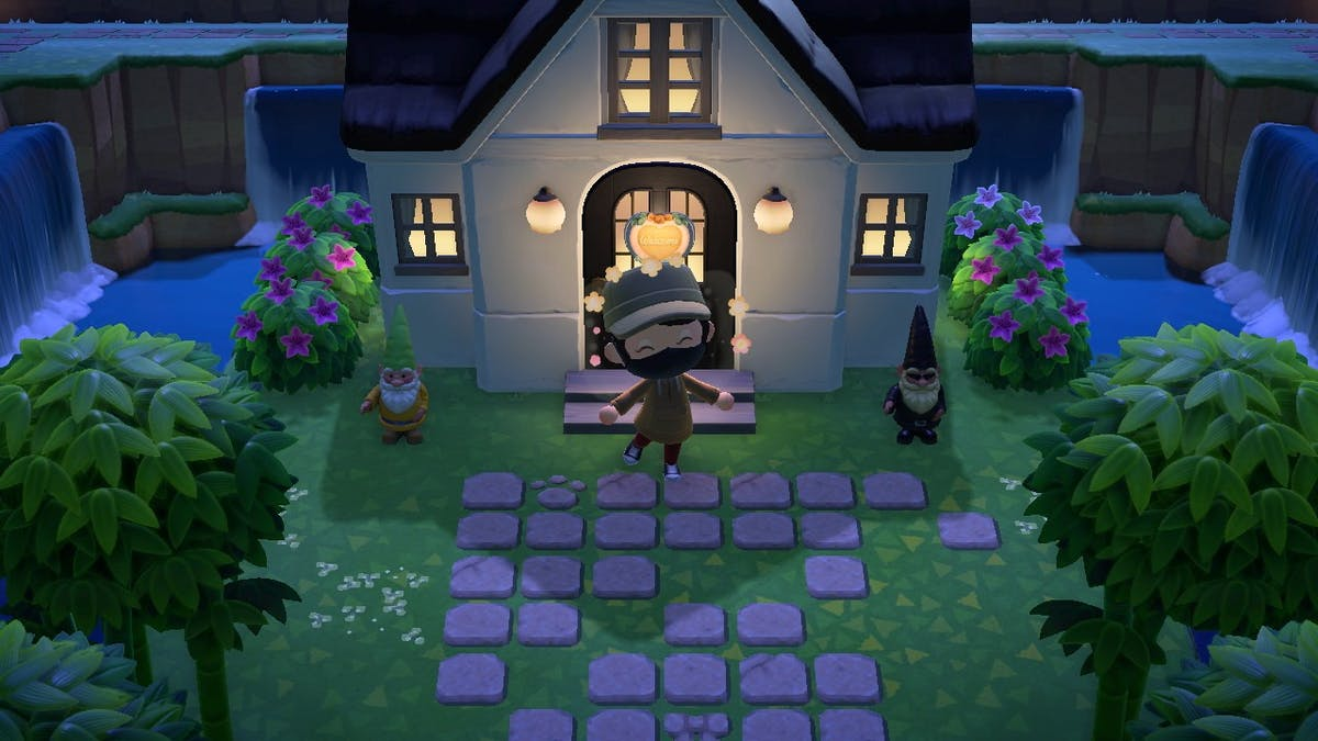 My humble house in Animal Crossing: New Horizons