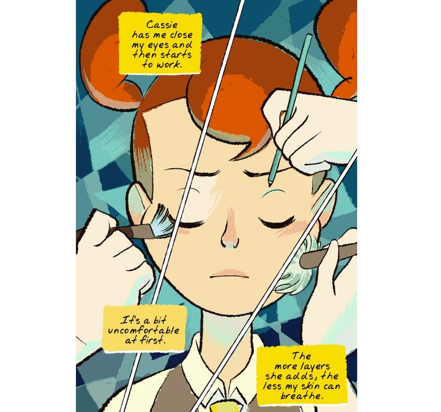 Space Boy panel example 2! READ. THIS. NOW.