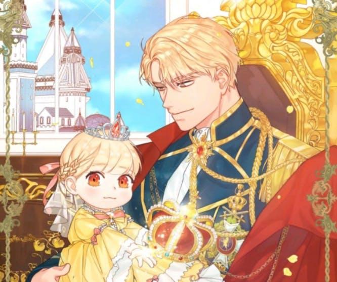 Youngest Princess webtoon cover