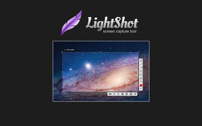 Lightshot ad for Mac.