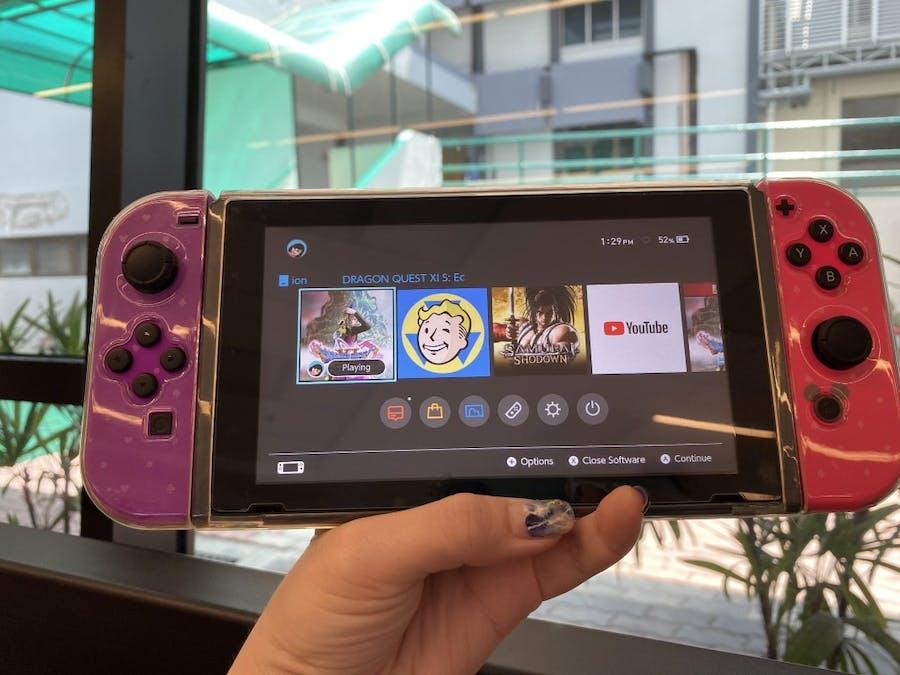 Nintendo Switch TPU casing