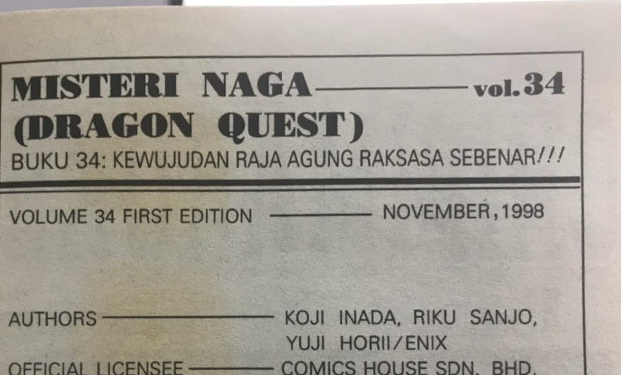 November 1998 is the first edition of Volume 34.