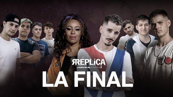 Final de Réplica, el programa de Skone. ¡Nasher campeón!