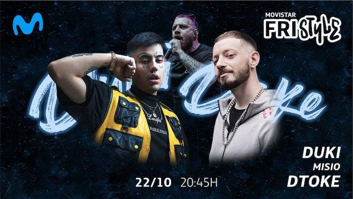 Dtoke vs Duki: Ver la batalla de Movistar FRIstyle ¡Misio será el host!