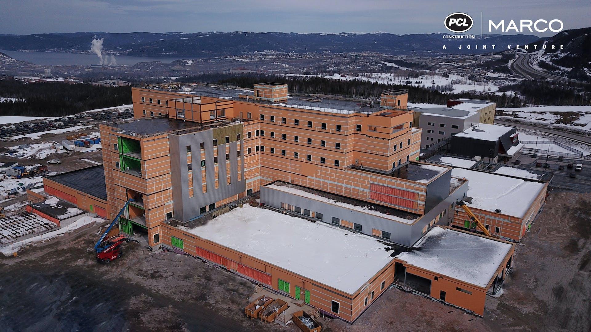 Corner Brook Acute Care Hospital Building