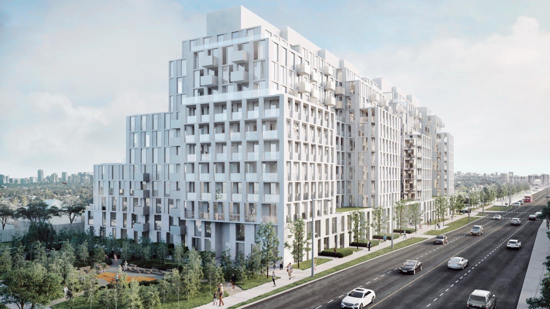 Nordic Condos - Building