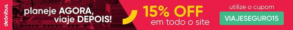 15% de desconto - desk