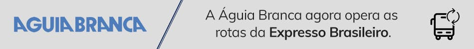 A Águia Branca agora opera as rotas da Expresso Brasileiro