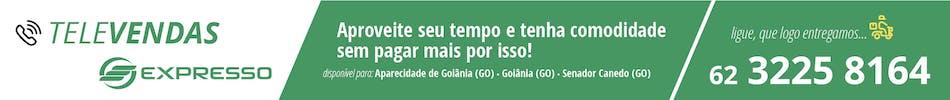 Banner de Televenda da Expresso Transporte