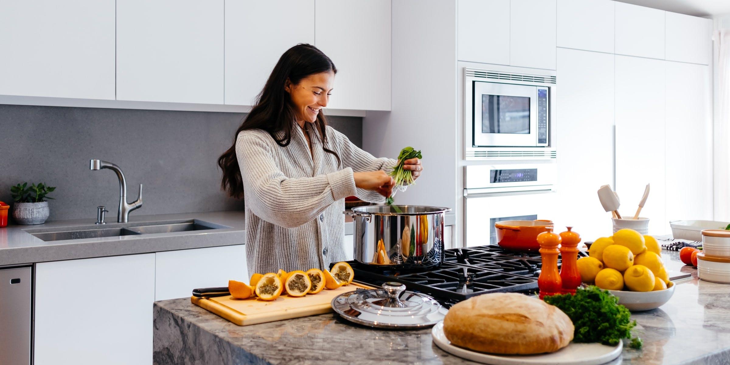 Gezond eten in de keuken