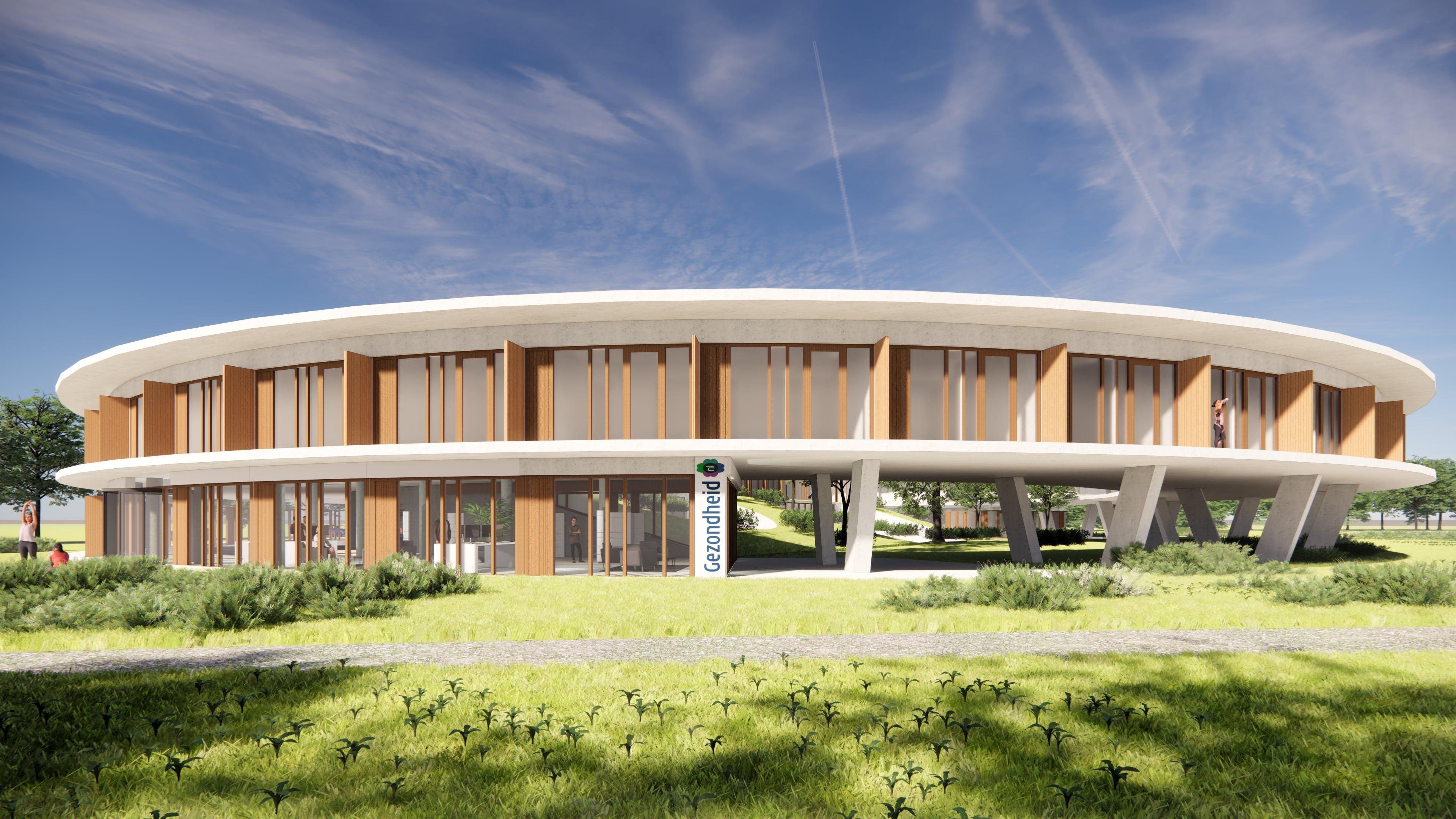 Zorghotel in aanbouw in Borne / Zenderen