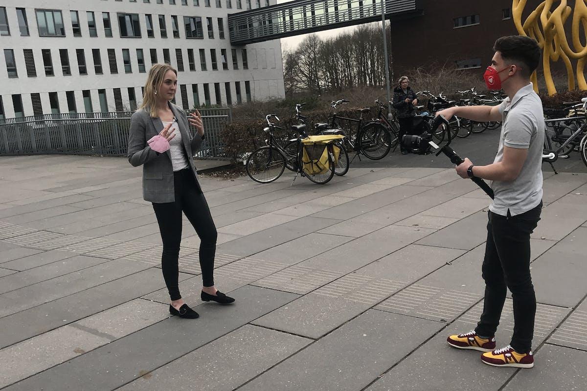 Lisanne Spaander presenteert THERAPIE voor Gezondheid.nl