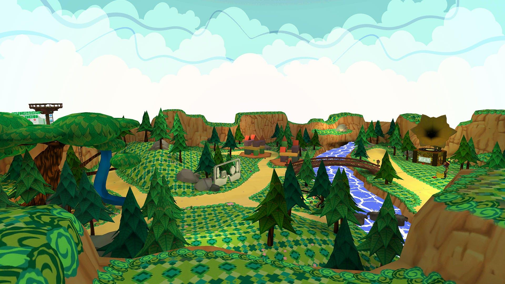 PlaygroundVR speeltuin voor kinderen.
