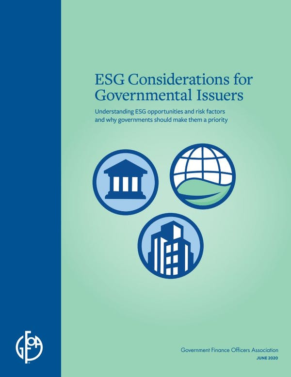 ESG Considerations for Governmental Issuers