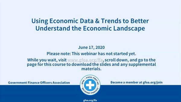 Using Economic Data and Trends to Better Understand the Economic Landscape