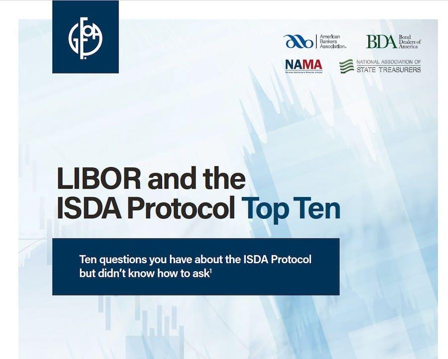 LIBOR ISDA Protocol Top 10 Cover