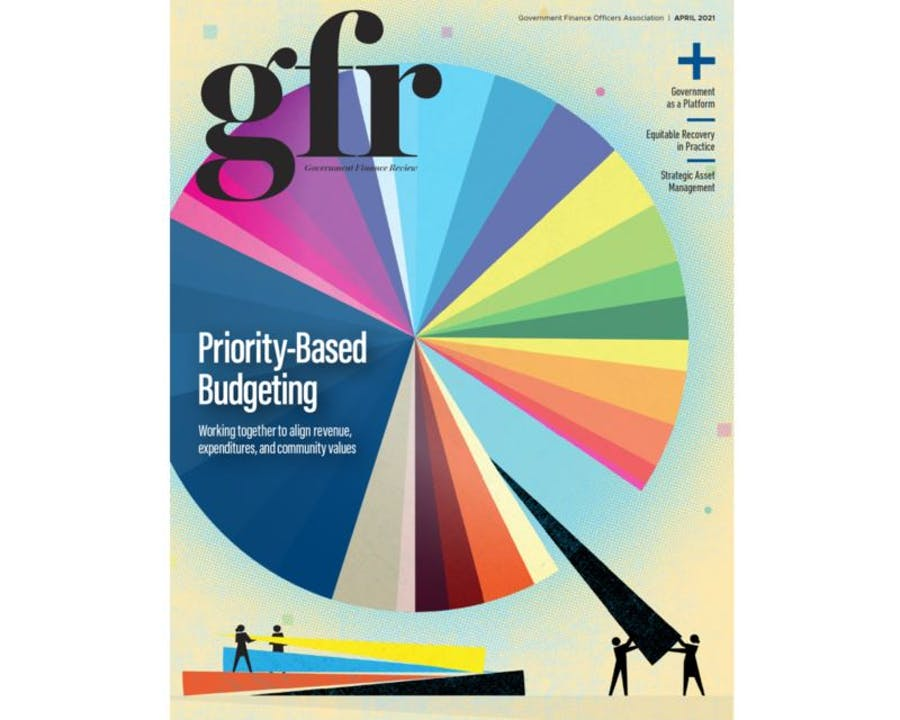 Cover of April 2021 GFR