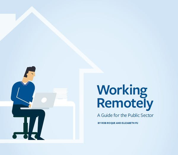 Working Remotely: A Guide for the Public Sector