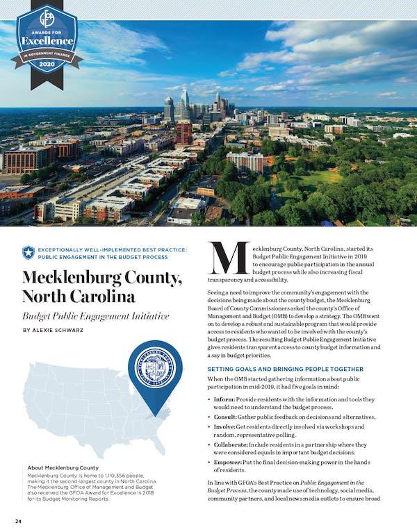 GFR Mecklenburg County