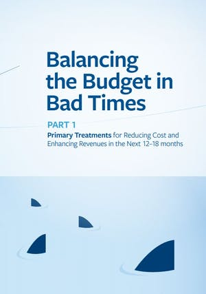 Balancing the Budget in Bad Times - Part 1