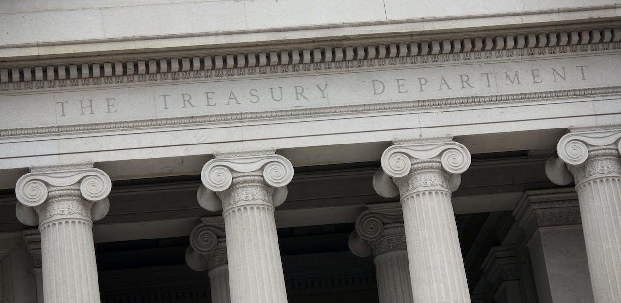 Photo of Treasury Building