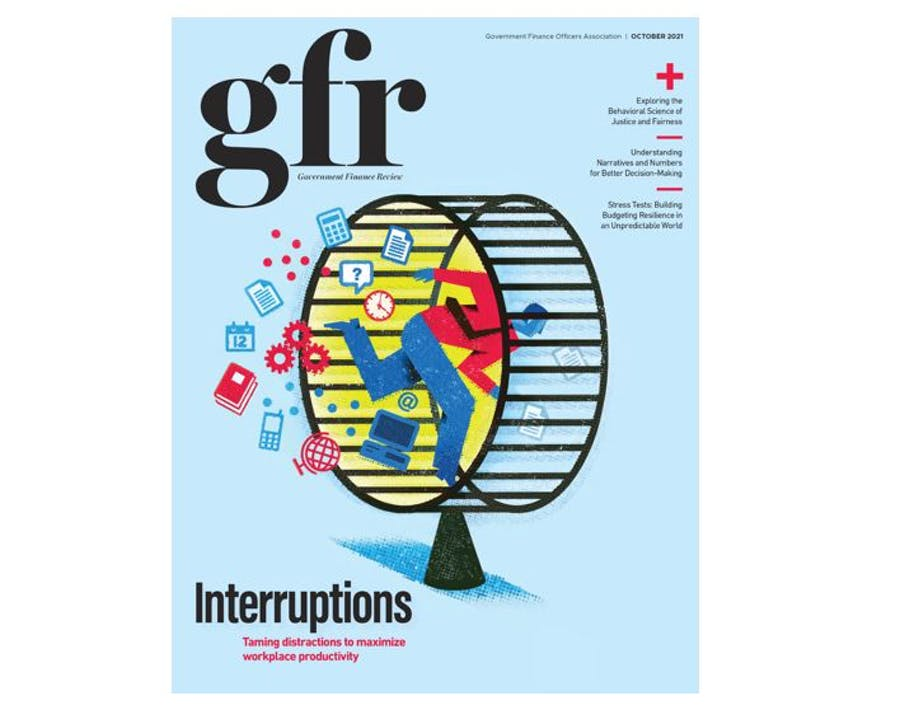Cover of October 2021 GFR