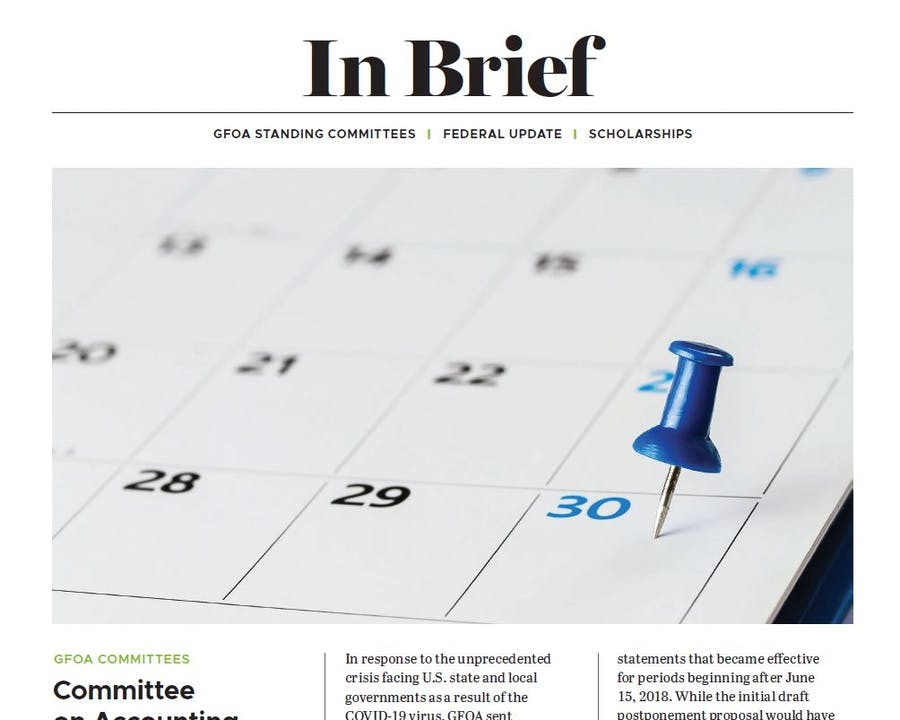 In Brief: Committee Update
