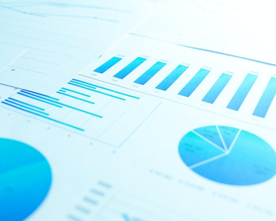 Photo of accounting chart.