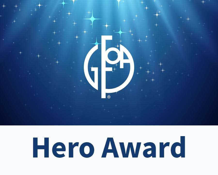 GFOA Hero Award